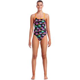 Funkita Tie Me Tight One Piece Swimsuit Ladies Palm Drive